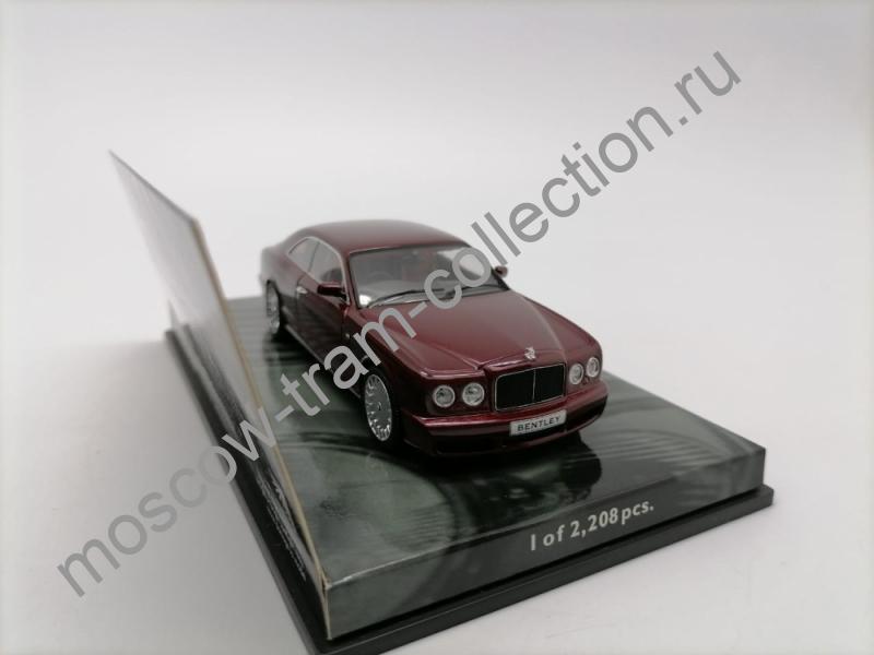 Коллекционная масштабная модель 1:43 Bentley Brooklands Red metallic (2007g).арт.436 139620