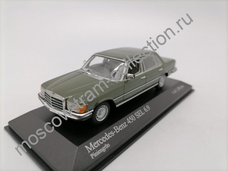 Коллекционные масштабные модели Mercedes Benz 450 SEL 6.9