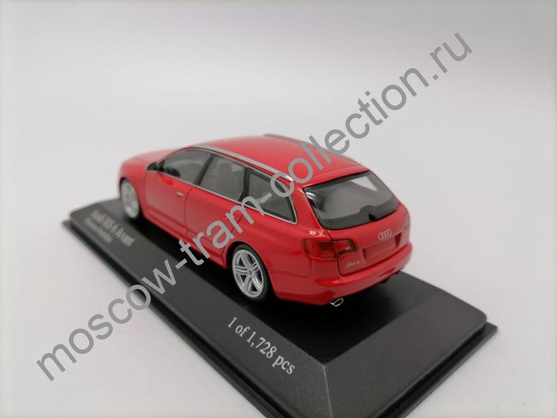Коллекционная масштабная модель 1:43 Audi RS6 Avant 2007