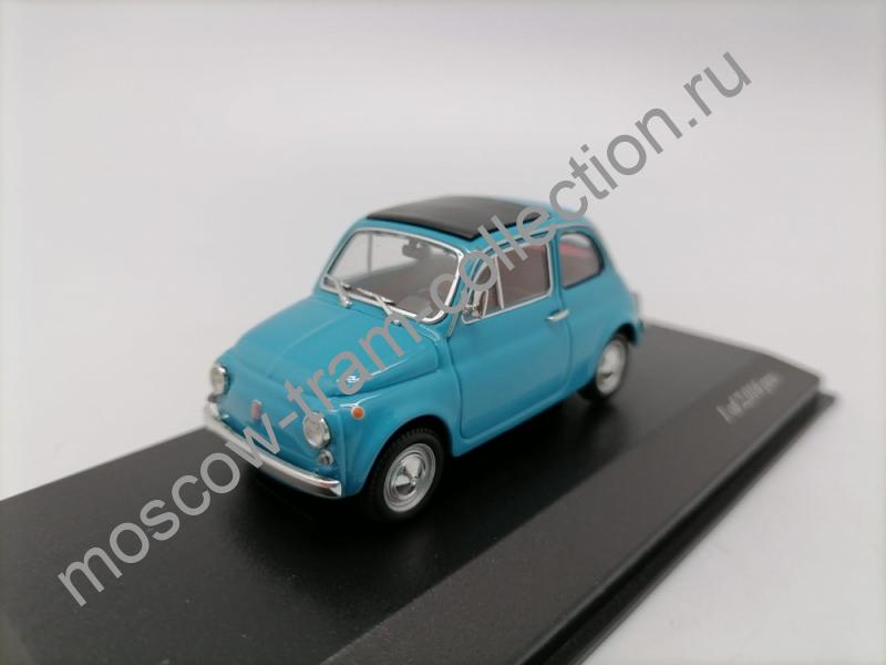 Масштабная коллекционная модель Fiat 500