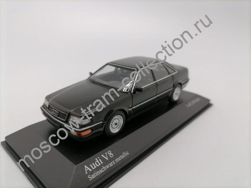 Коллекционная масштабная модель 1:43 Audi V8 1988 black