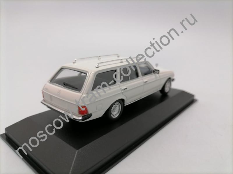 Коллекционная масштабная модель 1:43 Mercedes-Benz 250T (W123) white