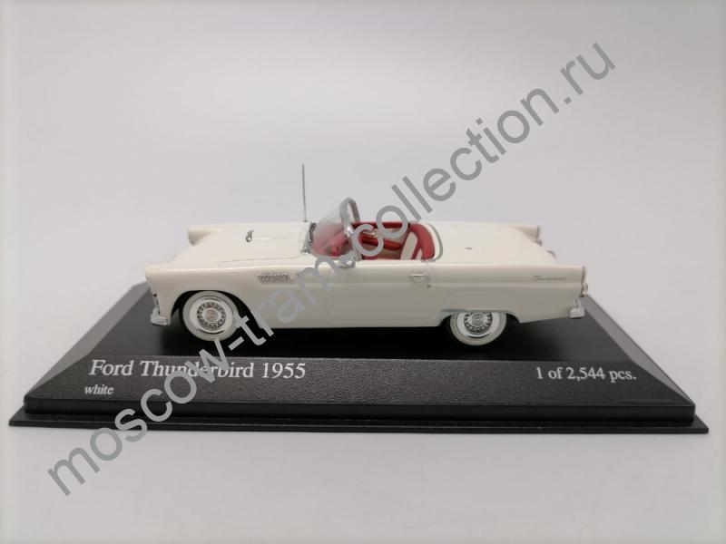 Коллекционная масштабная модель 1:43 Ford Thunderbird 1955