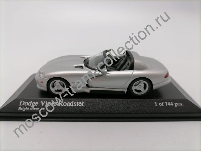Масштабная коллекционная модель Dodge Viper Roadster