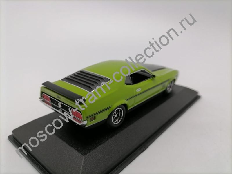 Коллекционная масштабная модель 1:43 Ford Mustang Mach 1 1971 green