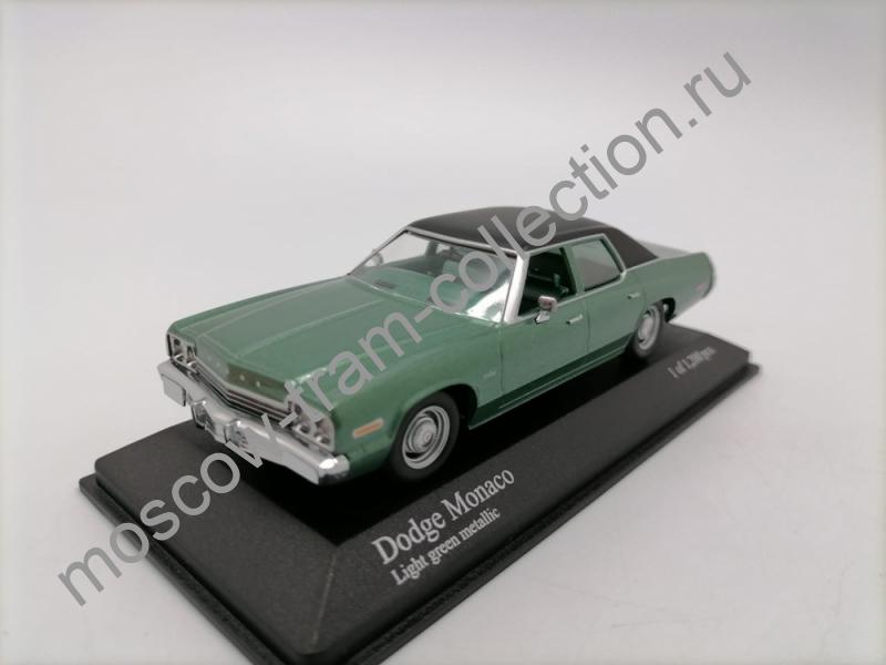Коллекционная масштабная модель 1:43 Dodge Monaco 1974 green
