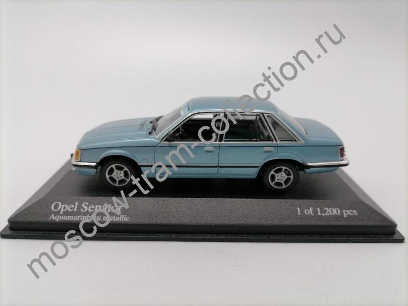 Коллекционные масштабные модели Opel Senator