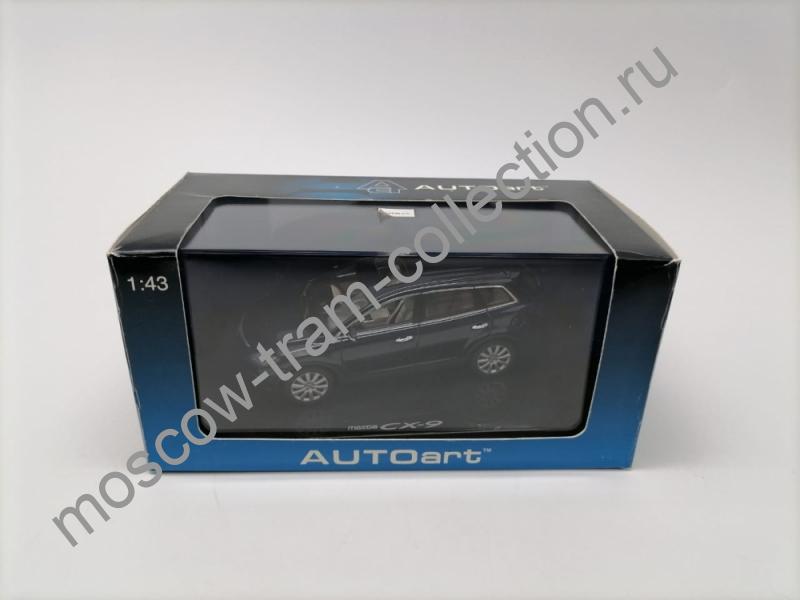 Коллекционная масштабная модель 1:43 Mazda CX-9 blue