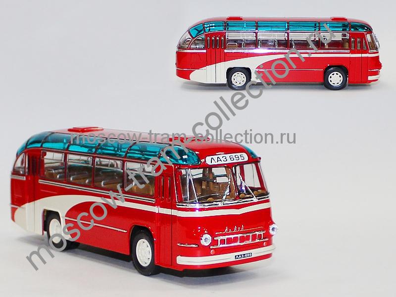 Масштабная коллекционная модель ЛАЗ 695