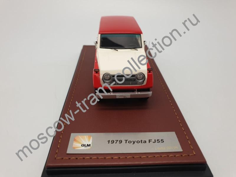 Коллекционная масштабная модель 1:43 Toyota FJ55
