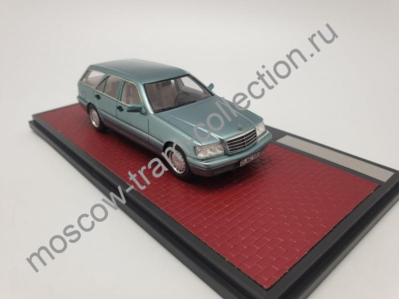 Коллекционная масштабная модель 1:43 Mercedes-Benz S 500T S140 Binz/Cadford Prototype арт. 51302-221