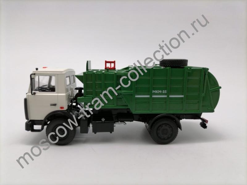 Коллекционная масштабная модель 1:43 МКМ-35 (5337) белый-зеленый.арт.102866