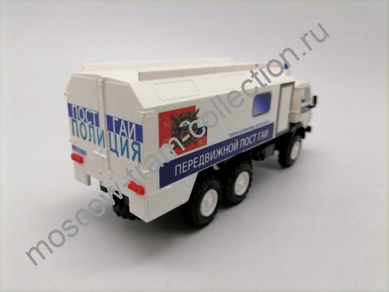 Коллекционная масштабная модель 1:43 КАМАЗ-4310. 85 Лет ГАИ-ГИБДД МВД России