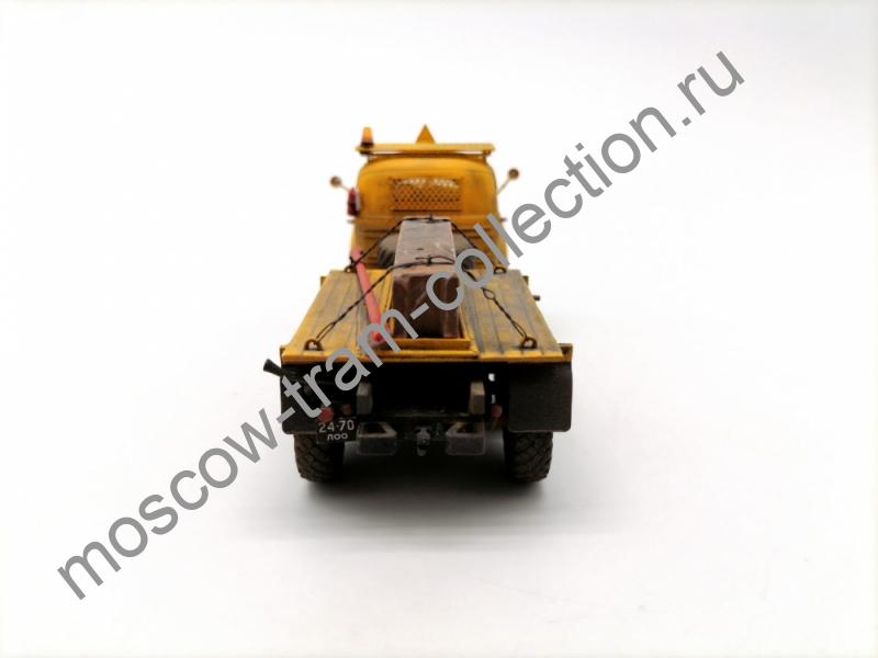 Коллекционные масштабные модели Зил 157 К Баластный тягач МТП - 6, запыленный