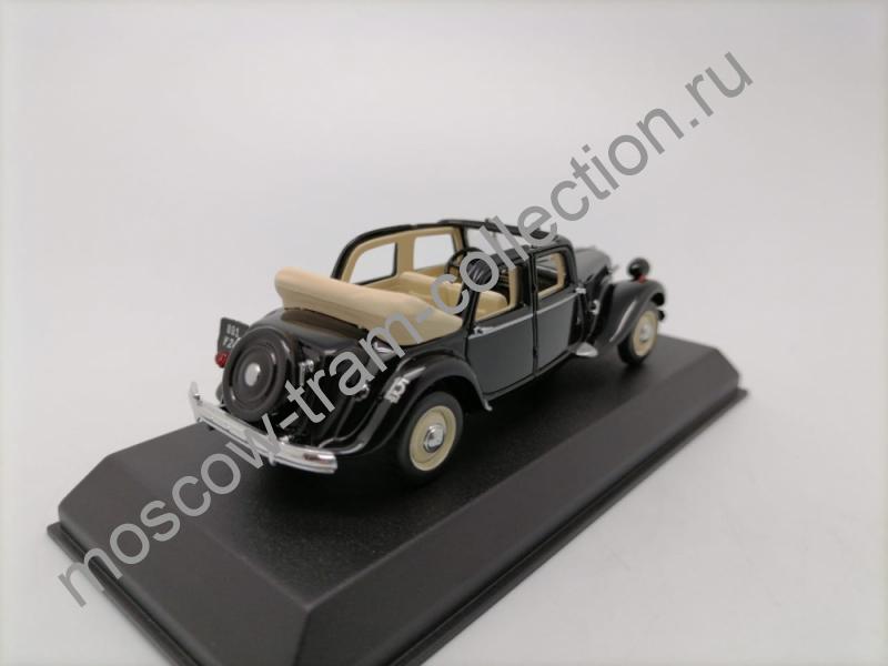 Коллекционная масштабная модель 1:43 Citroen 15-Six Decouvrable Black.1951.арт.153022