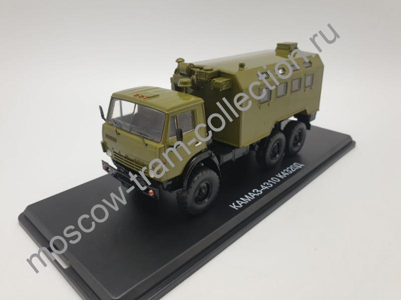 Коллекционная масштабная модель 1:43 Масштабная модель КАМАЗ-4310 К4320Д арт.SSM1452