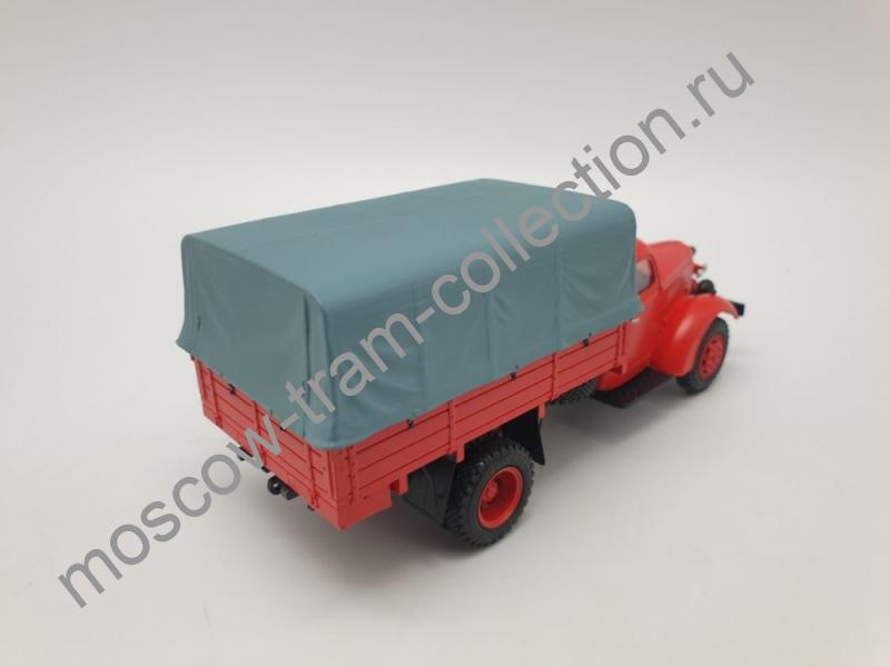 Коллекционная масштабная модель 1:43 Автомобиль пенно-химического тушения на базе ЗИС-150 с передним расположением насоса