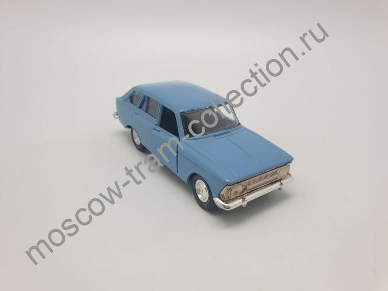 """Коллекционная масштабная модель 1:43 Москвич ИЖ-1500 """"Комби"""", сине-голубой"""