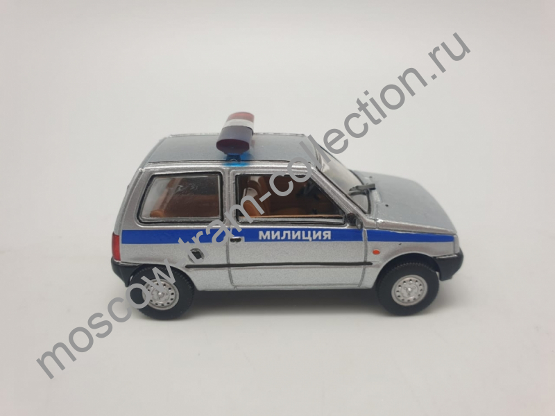 """Коллекционная масштабная модель 1:43 ВАЗ-1111 Ока, """"Милиция"""""""