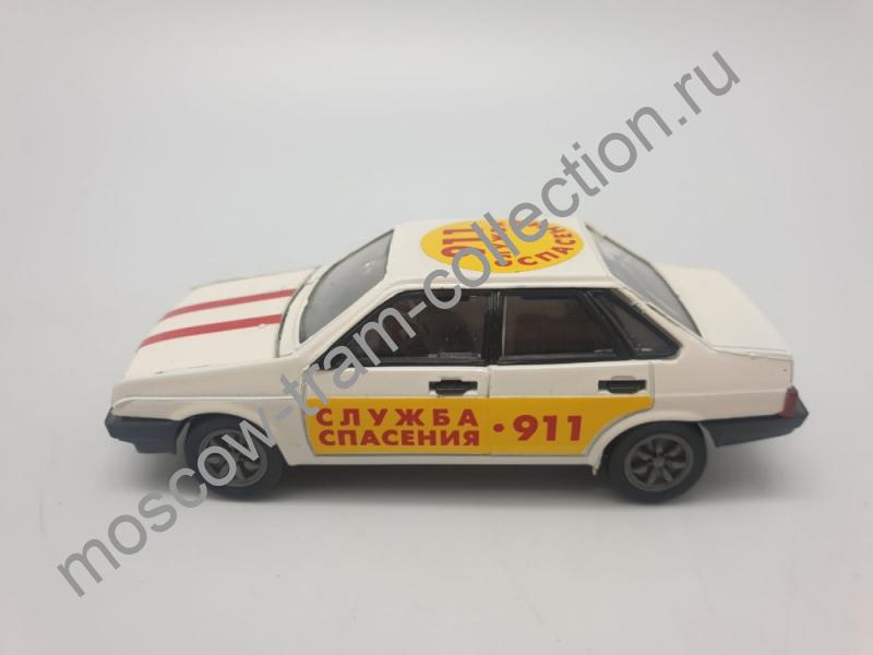 Коллекционная масштабная модель 1:43 ВАЗ-21099, (Служба спасения*911-) Наклейка