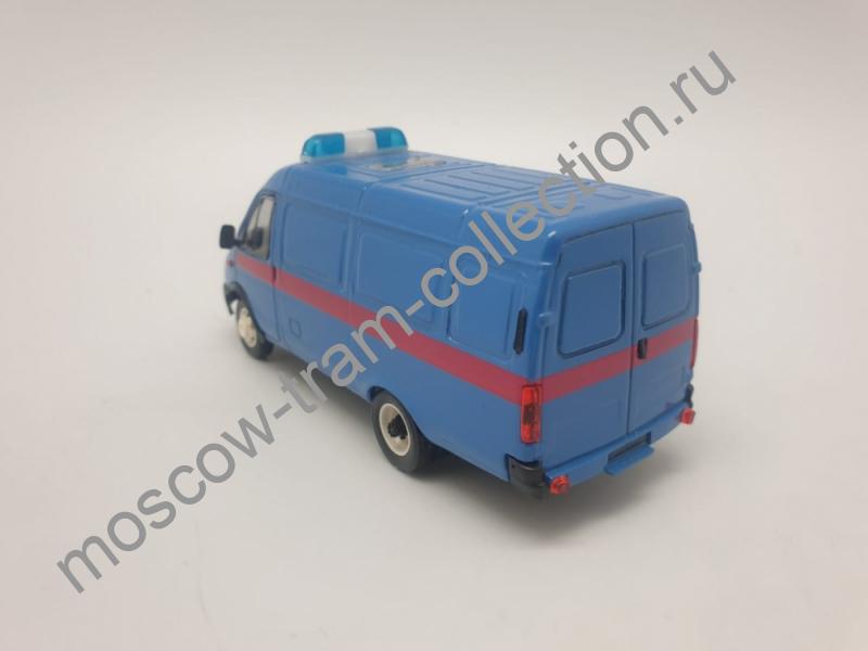 Коллекционная масштабная модель 1:43 Горький-2705 фургон Прокуратура (поздняя облицовка, третий рестайлинг)