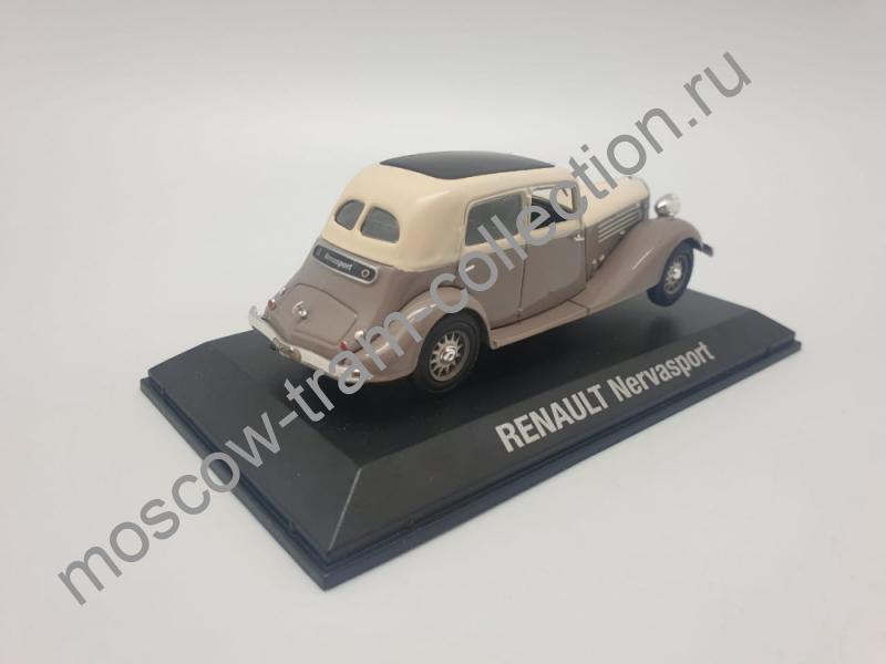 Коллекционная масштабная модель 1:43 Renault Nervasport