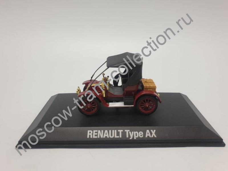 Коллекционная масштабная модель 1:43 Renault Type AX, art. no 7711575942