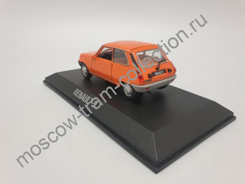 Коллекционная масштабная модель 1:43 Renault 5, art. no 7711575928