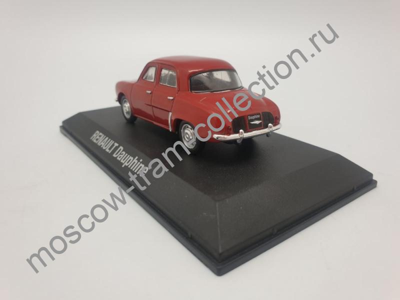 Коллекционная масштабная модель 1:43 Renault Dauphine