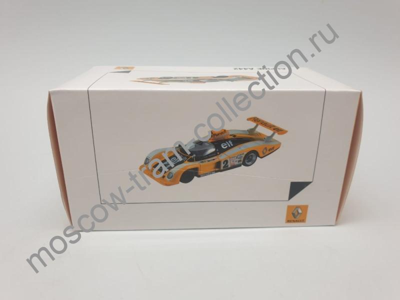 Коллекционная масштабная модель 1:43 Renault A442, art. no 7711575961